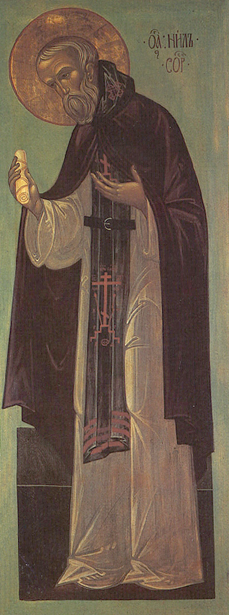 IMG ST. NILUS of Sora, Abbot and Wonderworker,