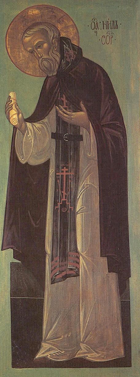 IMG ST. NILUS of Sora, Abbot and Wonderworker,