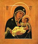 Icon of the Mother of God from Murom