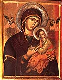 "Icon of the Mother of God ""Of The Passion"""