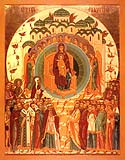 "Icon of the Mother of God ""All of Creation"""