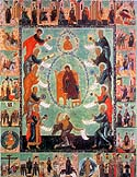 Icon of the Mother of God &amp;ldquo;Of The Akathist&amp;rdquo; or Zographou