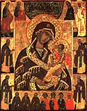 Icon of the Mother of God of Rzevsk