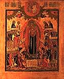 Icon of the Mother of God &amp;ldquo;the Joy of All Who Sorrow&amp;rdquo;
