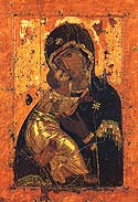 "Icon of the Mother of God ""Sweet-Kissing"""