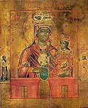"Icon of the Mother of God ""Chenstokhovk"" (Czestochowa)"
