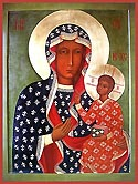 "Icon of the Mother of God ""Czestochowa"""
