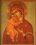 Icon of the Mother of God of St Theodore