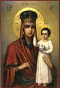 Icon of the Mother of God of Humility