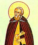St Illyricus the Monk of Mt. Myrsinon in the Peloponnesus
