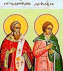 Martyr Theodulus the Reader, and those with him, at Thessalonica