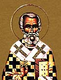 St Celestine the Pope of Rome