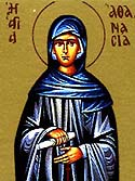 St Athanasia the Wonder-worker