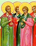 Martyr Zoticus of Nicomedia, and others who suffered under Maximian