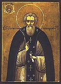Venerable Sylvester the Abbot of Obnora