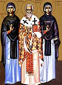 Righteous Virginmartyr Glaphyra