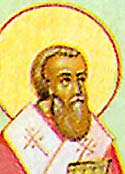 St Donatus the Bishop of Euroea in Epirus