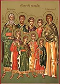 Martyr Eusebonus of the Holy Seven Maccabee Martyrs