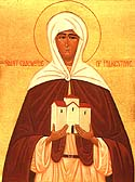 St Eanswythe the Abbess of Folkestone