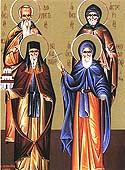 St Theodosius the New, Healer of Peloponnesus
