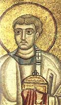 Martyr and Archdeacon Laurence of Rome