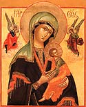 Icon of the Mother of God &amp;ldquo;of the Passion&amp;rdquo;