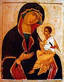 Icon of the Mother of God of Georgia