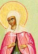 Virginmartyr Syra of Persia