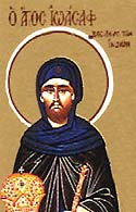 Venerable Joasaph, son of St. Abenner the king