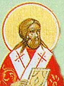 St Liberius the Pope of Rome