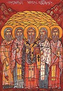 New Martyr Axalmotsameni and his companions of Georgia