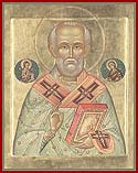 St Nicholas the Wonderworker and Archbishop of Myra in Lycia