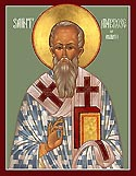 St Ambrose the Bishop of Milan