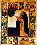 Venerable Anthony the Abbot of Siya, Novgorod