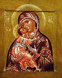 Icon of the Mother of God of Vladimir of Seligersk