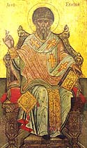 St Spyridon the Wonderworker and Bishop of Tremithus