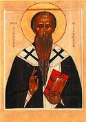 St Stephen the Confessor the Archbishop of Surozha in the Crimea