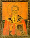St Modestus the Archbishop of Jerusalem