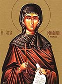Venerable Melania the Younger of Rome