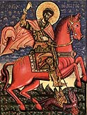 Translation of the relics of the Greatmartyr Theodore Stratelates