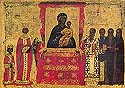 Righteous Theodora, wife of the Emperor Theophilus, the Iconoclast