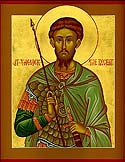 "Greatmartyr Theodore the Tyro (""the Recruit"")"