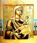 Icon of the Mother of God from Cyprus