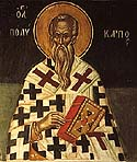 Hieromartyr Polycarp the Bishop of Smyrna
