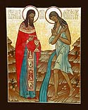 5th Sunday of Great Lent: St Mary of Egypt