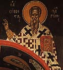 St Sylvester the Pope of Rome