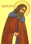 St Elian, Missionary to Cornwall, England
