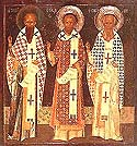 Synaxis of the Ecumenical Teachers and Hierarchs: Basil the Great, Gregory the Theologian, and John Chrysostom