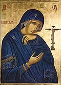 Icon of the Mother of God of Akhtyr