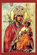 Icon of the Mother of God of Galatea